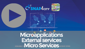 Snap4City Overview: Microapplications, External Services and Microservices
