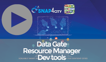 Snap4City Overview: Data Gate, Resource Manager, Development Tools